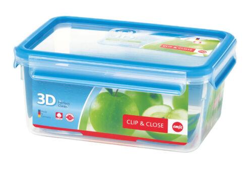 Emsa 6er Set Clip /& Close 3d Perf Clean Frischhaltedose frischhaltebox Vorratsdose