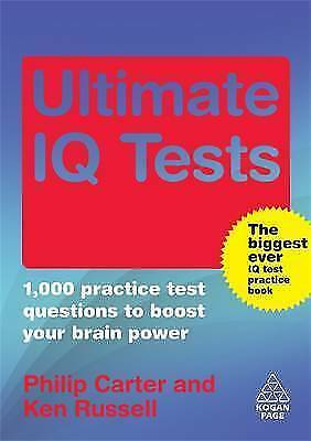 Ultimate IQ Tests: 1000 Practice Test Questions to Boost Your Brain Power, Russe