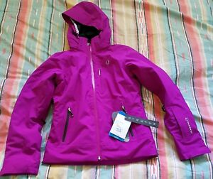 SUNICE-FLEXVENT-Insulated-NEW-Purple-Waterproof-Jacket-w-Hood-Size-2-399