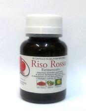 RISO ROSSO FERMENTATO +Carciofo+Tarassaco controllo del COLESTEROLO 60 capsule
