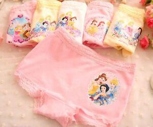 3PC ZARA Kids Girls Minnie Mickey Mouse Underwear Undies Panties Bottoms 2-9yr