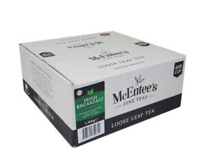 McEntee's IRISH BREAKFAST BLEND Tea - CATERING 1.35Kg - 600 Cup BY DSDELTA