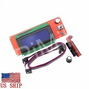 LCD-2004-Graphic-Smart-Controller-for-RepRap-RAMPS-1-4-3D-Printer-Mendel-Prusa