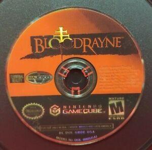 Bloodrayne -  Nintendo GameCube Race Racing Game NGC Tested Rare Blood Rayne