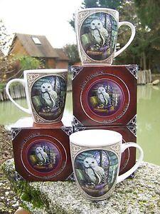 Mulp08 Détails Mug Parker Sur Chouette Lisa B Design Fantasy Hibou Tasse 3 Heroic IE2H9WDY