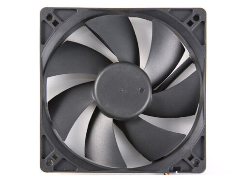 Silent Sleeve Bearing 120mm Computer Case Cooling Fan with LP4 Adapter