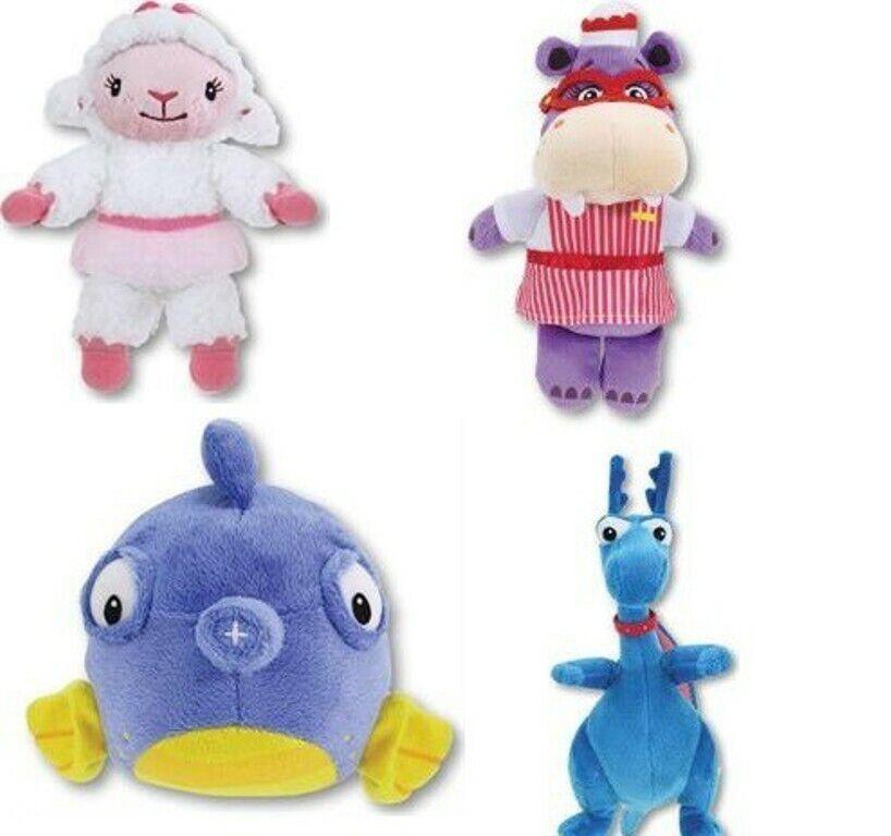 Doc Doc Doc McStuffins Lambie Hallie Squeakers Stuffy Soft Plus Toy Figures Set Official 2036a4