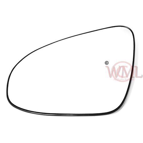 TOYOTA AYGO 2014-/>2018 DOOR//WING MIRROR GLASS SILVER,HEATED /& BASE LEFT SIDE