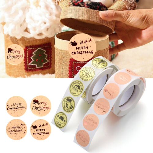 Sign Wedding Decor Christmas Stickers Adhesive Label Sticky Note Seal Sticker