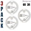miniature 14 - 3Pack 6Ft 3Ft USB Fast Charging Cable Lot For iPhone 12 11 8 7 6 XR Charger Cord