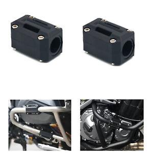 Engine Guard Bumper Block Protector Decor For Yamaha FJR1300 //A//AE//ES 2013-2019
