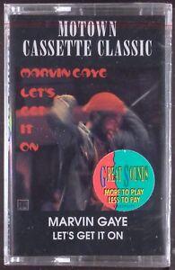Marvin-Gaye-Let-039-s-Get-It-On-LP-CASSETTE-MOTOWN-R-amp-B-SEALED-OOP