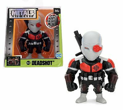 """JADA 2.5/"""" METAL SUICIDE SQUAD HARLEY QUINN BRIGHT COLORS ACTION FIGURE 84853-W1"""