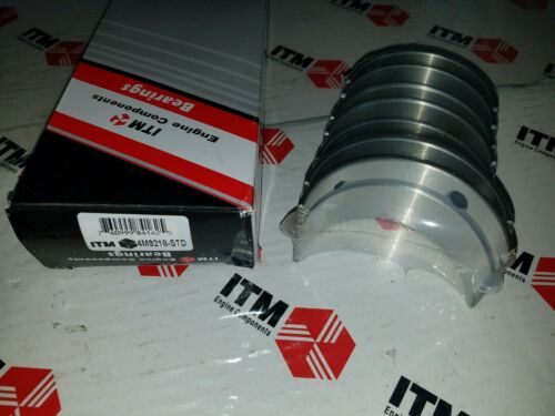 Main Bearing Set Thrust Washer Style Toyota Land Cruiser 10//84-92 .020