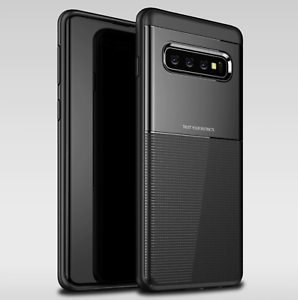 Black-Hard-Armour-Case-For-Samsung-Galaxy-S10E-Hybrid-Shockproof-Back-Cover