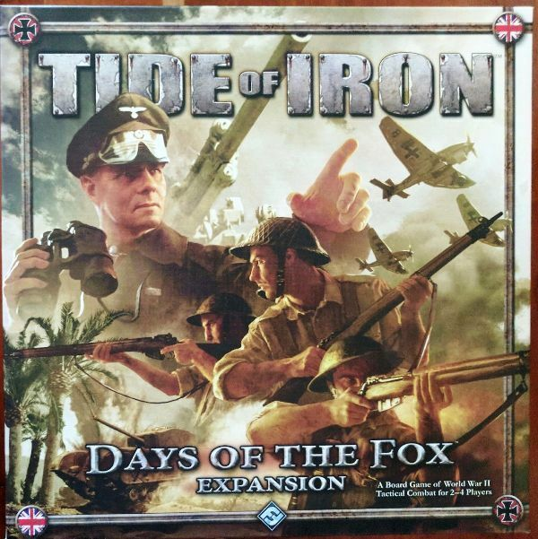Tide of Iron Days of the Fox expansion, by Fantasy Flight Games; cards sleeved