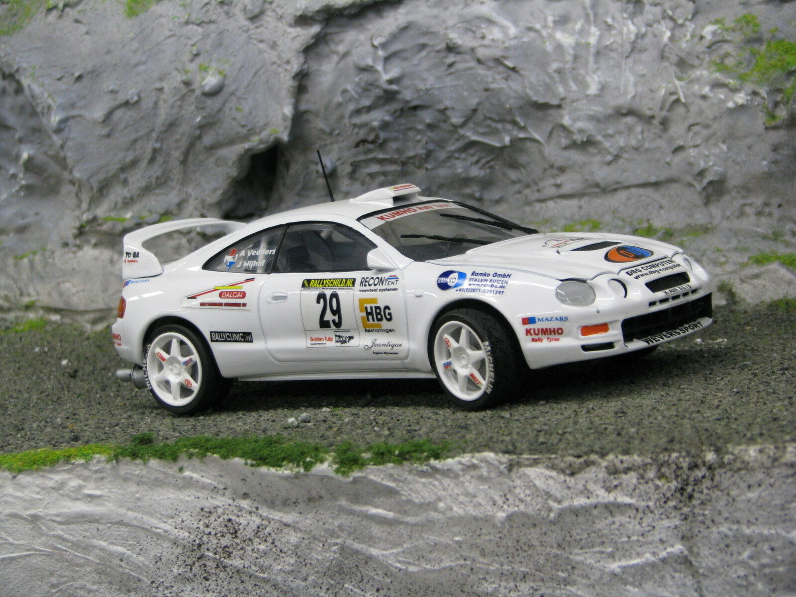 QSP Toyota Celica GT-Four 1 24  29 Nijhof   Vedders oren Tulip Rally 2004
