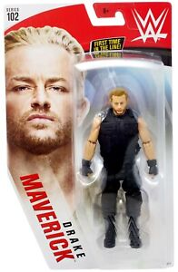 WWE Mattel Drake Maverick Series 102 figure loose