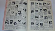 VINTAGE 1957 APPLIANCE CATALOG! TV's/RADIOS/WASHERS/STOVES/CAMERAS/HI FI! PRICES