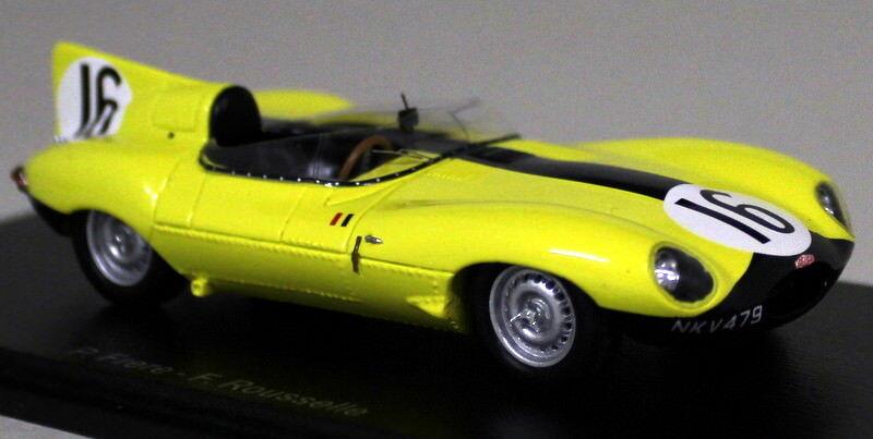 SPARK 1 43 Scale s2131 JAGUAR D-type 4th Le Mans 1957 FRERE Resin Model Car