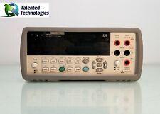 Agilent 34410a 6 12 Digits High Performance Digital Multimeter