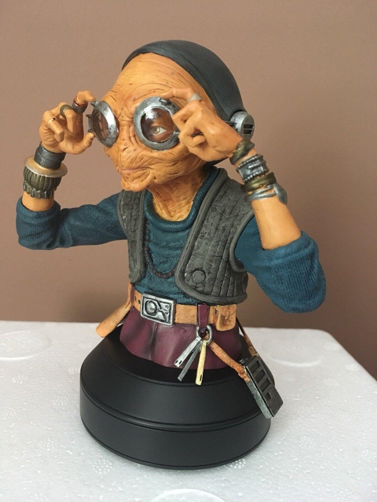 Star Wars Gentle Star Wars The Force Awakens Maz Kanata Bust