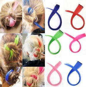 1Pcs-Fashion-Punk-Fluorescent-Gradient-Streaked-Dyeing-Hair-Piece-Wig-Clip