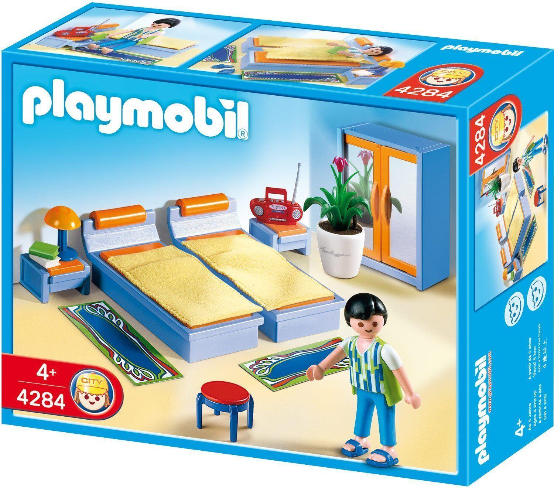 Dormitorio - PLAYMOBIL CITY LIFE  4284 - NUEVO