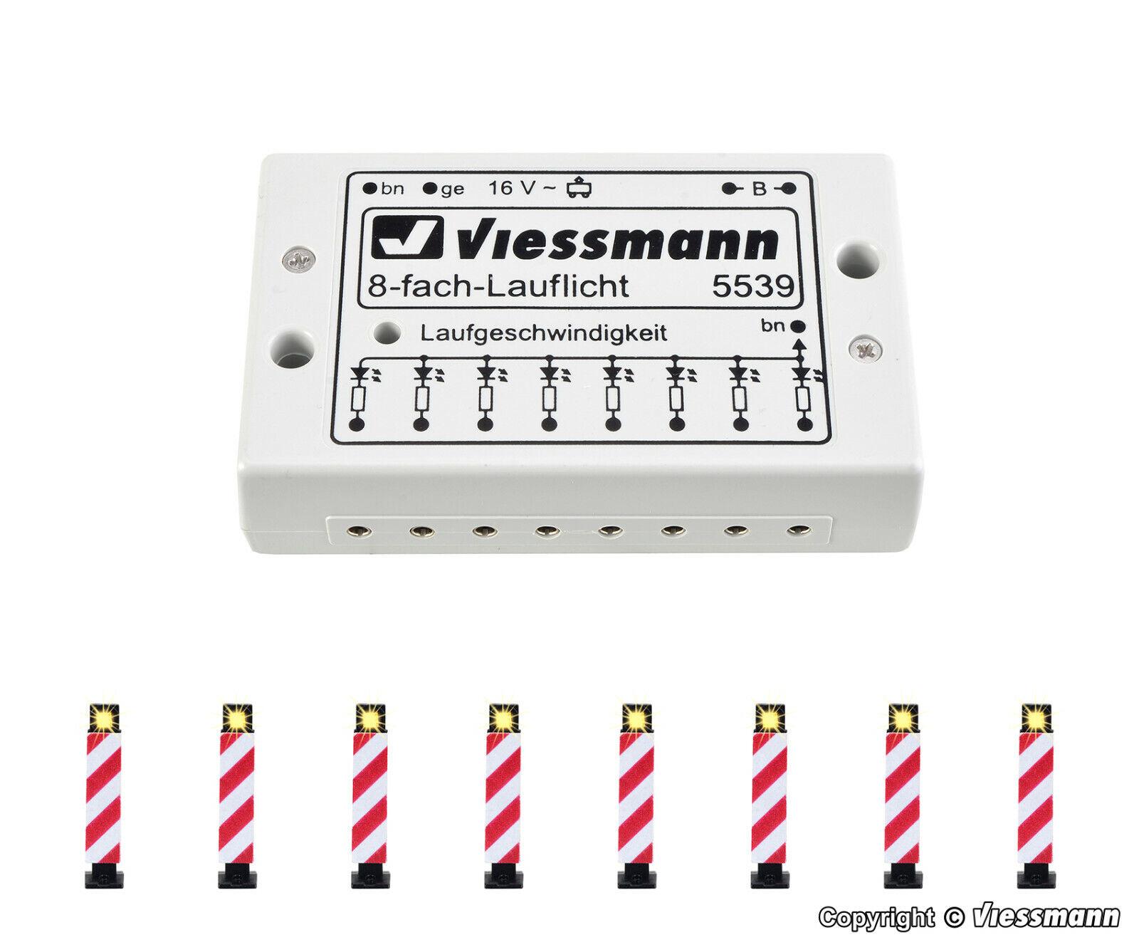 Viessmann h0 5040 8 warnbaken M. elettronica Nuovo/Scatola Originale