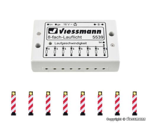 électronique Nouveau//Neuf dans sa boîte Viessmann h0 5040 8 Warnbaken M