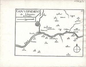 Antique-maps-Gouvernement-de-Libourne-amp-Fronsac