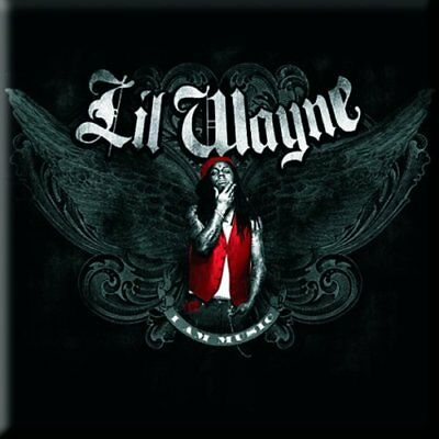 Lil Wayne Fridge Magnet Calamita Music Official Merchandise Facile Da Riparare