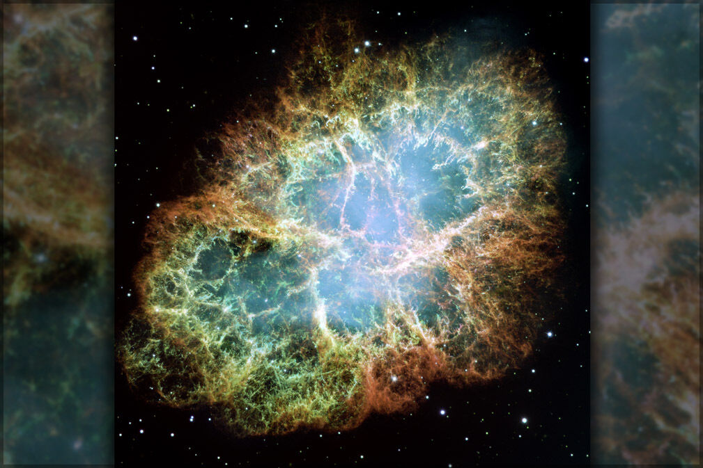 Poster, Many Größes; Crab Nebula  Hst