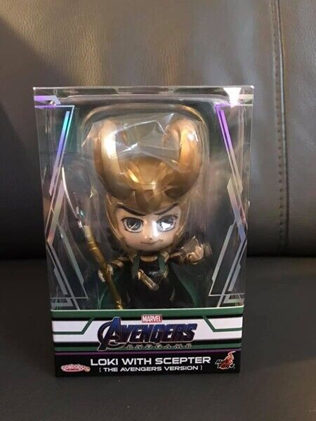 Hot toys Cosbaby Marvel Avengers Endgame Loki (The Avengers Version) Scepter