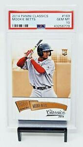 2014-Classics-RC-Dodgers-MOOKIE-BETTS-Rookie-Baseball-Card-PSA-10-GEM-Pop-141