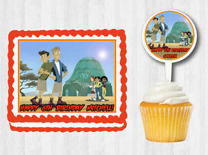 Wild Kratts Edible Cake Decoration