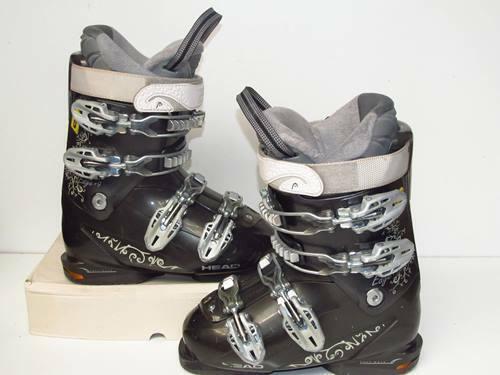 Skischuh Skistiefel gebraucht Head Edge+9, Gr. 36-37   23.5  (dd-201)
