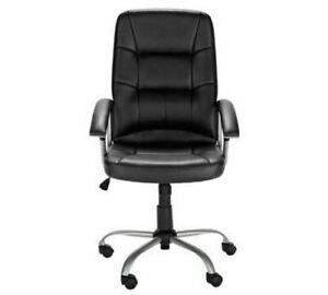 New Other Argos Home Walker Office Chair Black Gt201 Ebay