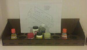 Motrak Models Scalecoat Paint NEW Paint Rack Kit clarksinn in
