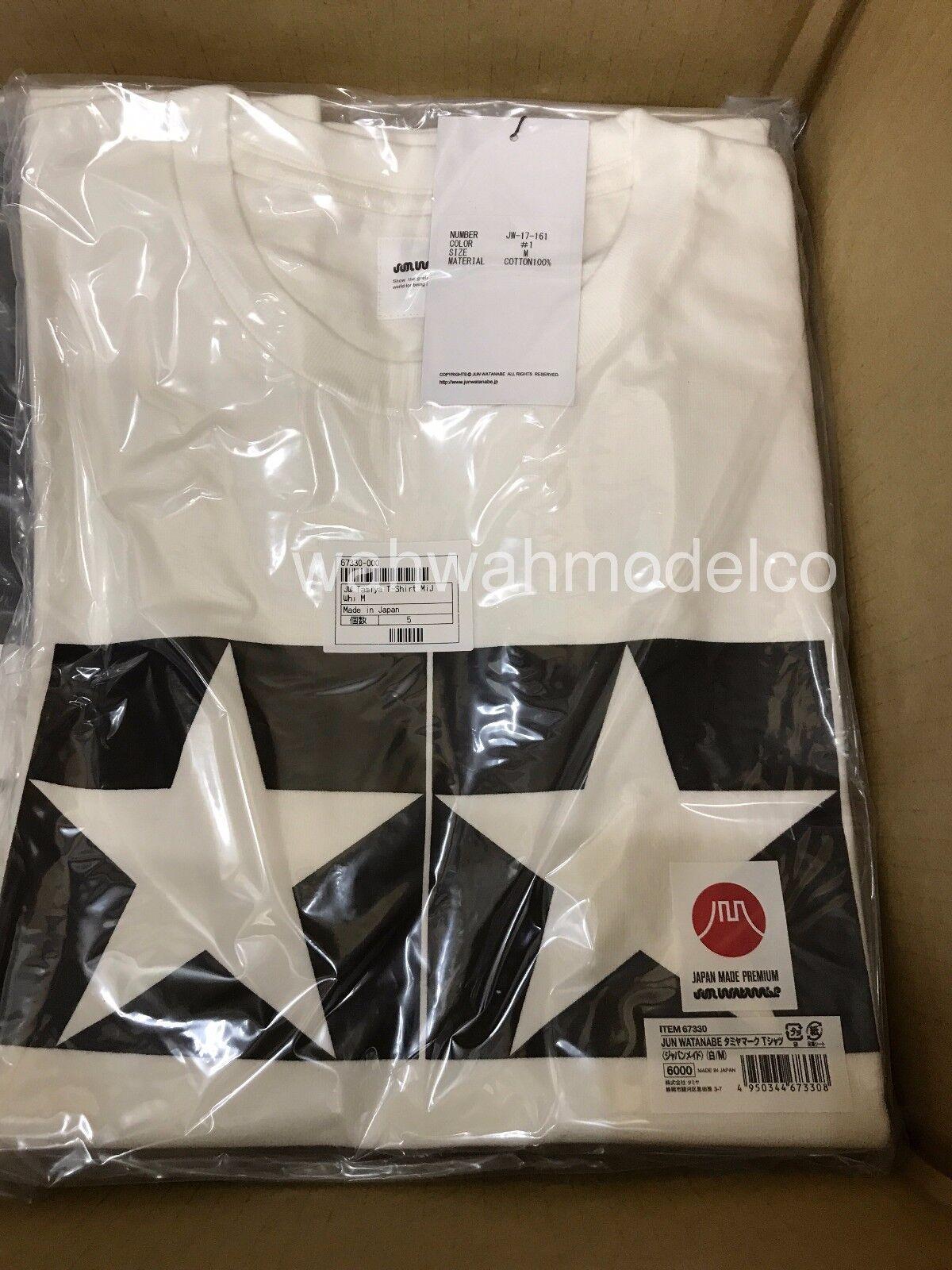 Tamiya 67330 TAMIYA x JUN WATANABE T-Shirt MiJ MiJ MiJ bianca M Dimensione cc90ac