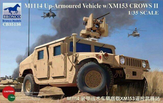 Bronco 1//35 #AB3571 XM153 CROWS II Armour