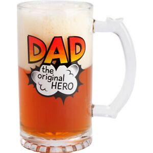 Dad-Beer-Mug-Stein-Glass-Fathers-Day-Novelty-Gift-Christmas-Birthday-Glass-New