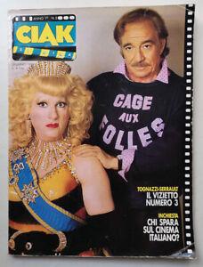 CIAK n° 2 - 1985  STING Sophia Loren DARIO ARGENTO