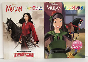 New-2-Disney-Princess-Mulan-Colortivity-Coloring-Activity-Books-New-Girls