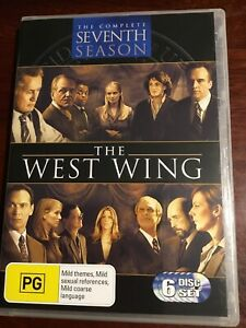 THE-WEST-WING-Complete-Seventh-Season-New-Sealed-6-DVDs-R4-PAL