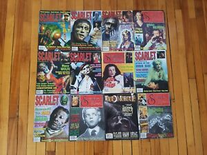 SCARLET-STREET-HORROR-Magazines-lot-Complete-VERY-VERY-RARE