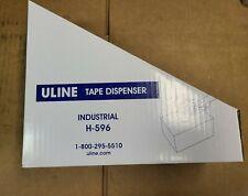 New Uline H 596 Packing Tape Dispenser Gun 3 Inch Side Load 1ct