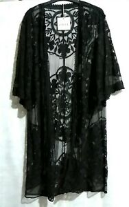 Bnwt-Black-Kimono-Cover-up