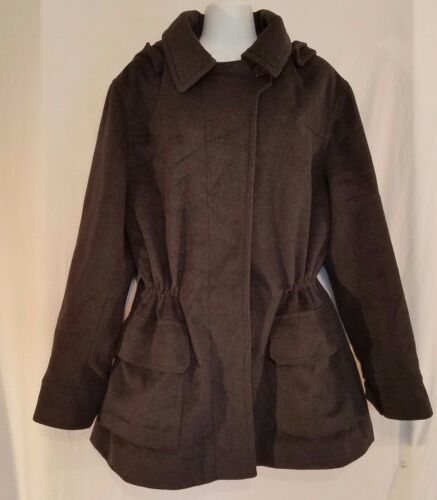 Woman Hood uld Jones Coat New Quilted Blend Cinch York Sort Trench 14 With EqHqS