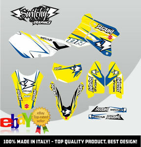 kit adesivi grafiche drop b suzuki dr z 400 sm drz decals. Black Bedroom Furniture Sets. Home Design Ideas